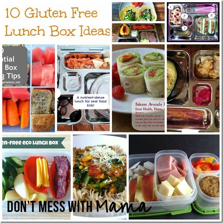 10 Gluten Free Lunch Box Ideas!