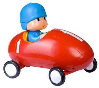 Imagenes de pocoyo y sus coches