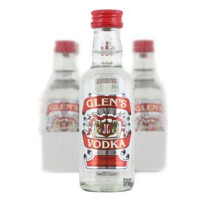 Glens Vodka 6x 5cl Miniature Pack