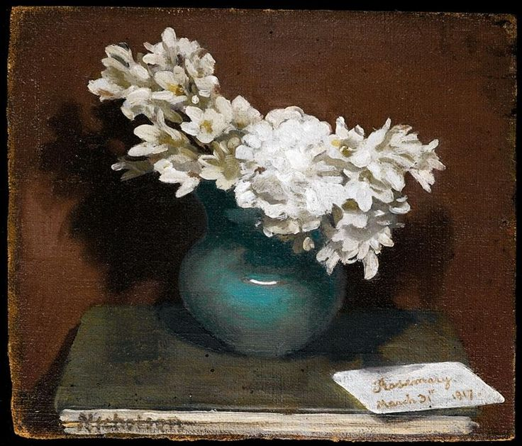 ❀ Blooming Brushwork ❀ - garden and still life flower paintings - Sir William Nicholson, 1872-1949