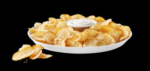 Copycat BP Cactus Cut Potatoes - 32 ounces of sour cream; 16 ounces of caesar dressing (it has to be a very creamy, strong parm caesar dressing)the closest people have found to Bp's caesar dressing surprisingly has been Walmart's generic brand; 1 cup of parm; 1 cup of fine chopped green onion; 1 ounce dried chilli flakes (also, potatoes are soaked in jalapeño juice before frying)