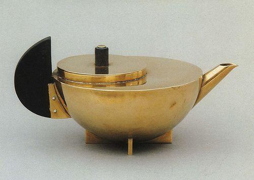 .50 Design, Art Deco Teapots, Teas Time, Teapots Art Nouveau, Teas Pots, Marianne Brandt, Drinks Teas, Bauhaus, Design Object