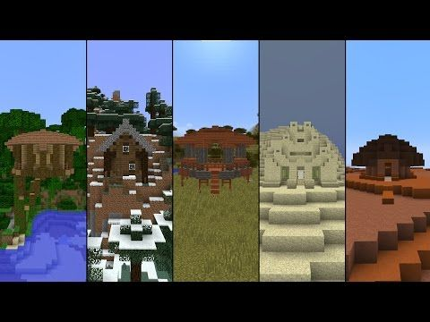 http://minecraftstream.com/minecraft-tutorials/5-starter-houses-in-minecraft/ - 5 Starter Houses in Minecraft!  Minecraft houses galore! Have you ever been in your first day in minecraft but can't stand to live in a dirt house?  Well, depending on your biome, you might want to consider these 5 designs for living in for your first few nights before you either move on or get properly established.  I...