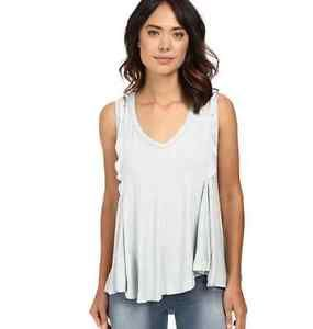 Women 039 s Free People Bondi Tank Cami Top Boho Size Small Silver | eBay