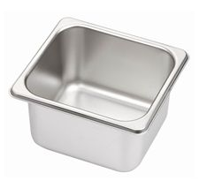 Minox 1-6-100 1/6 Size Gastronorm Pan - Pans Trays - Kitchen & Catering Equipment