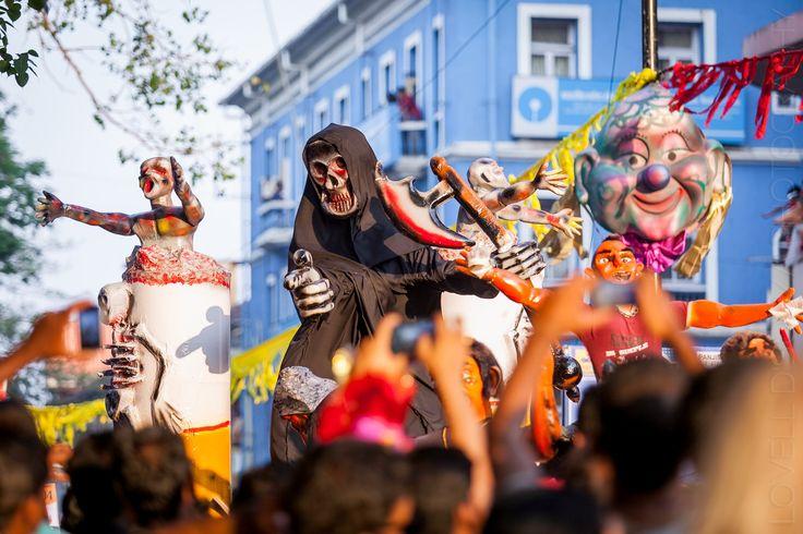Viva Carnaval! — Scenes from the Goa Carnival 2015!