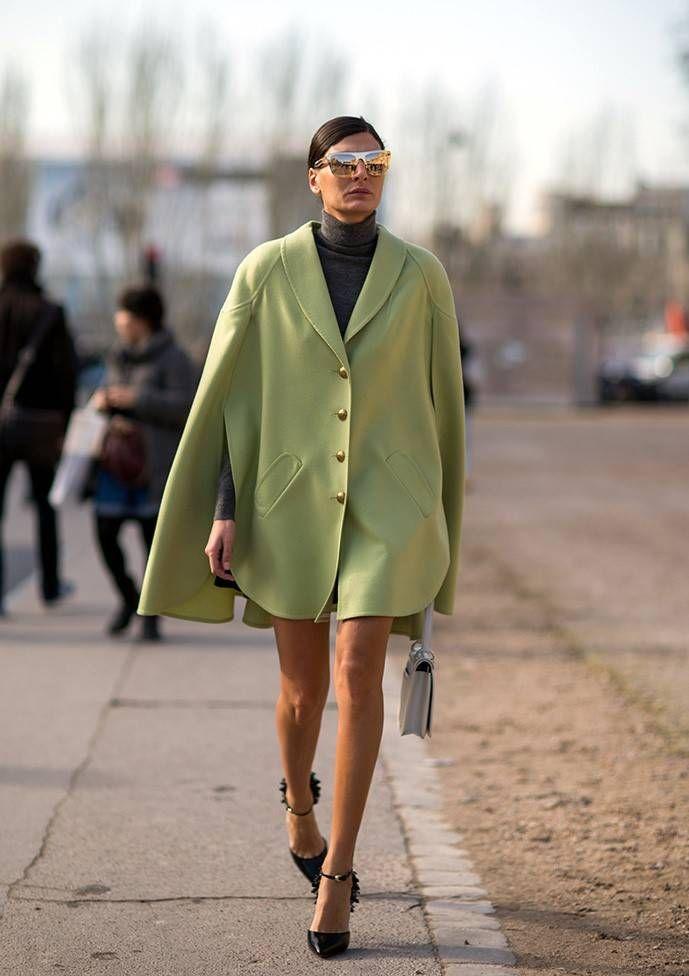 Джованна Батталья. Париж: Street Style