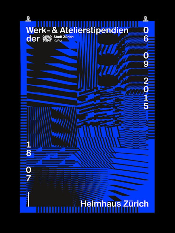 Werk- und Atelierstipendien der Stadt Zürich 2015 on Behance