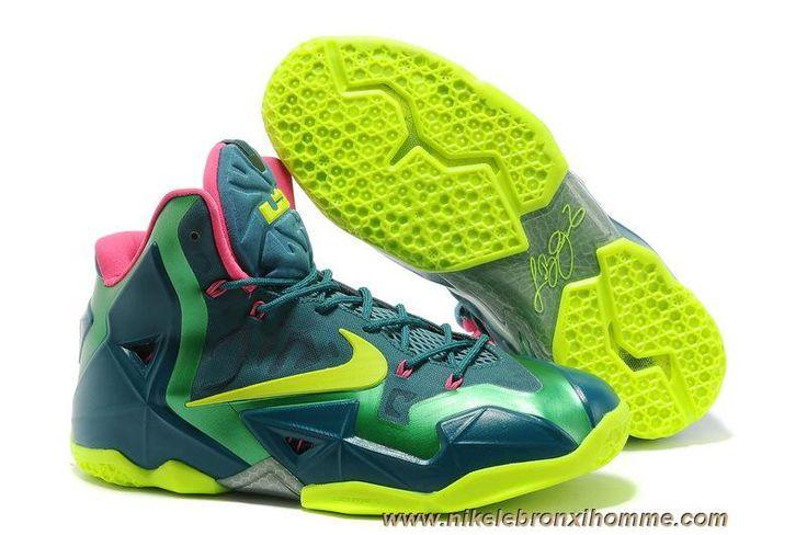 Nouveau Tyrannosaurus Basketball Chaussures Nike Air Max LeBron James 11  P.S ELITE Hommes
