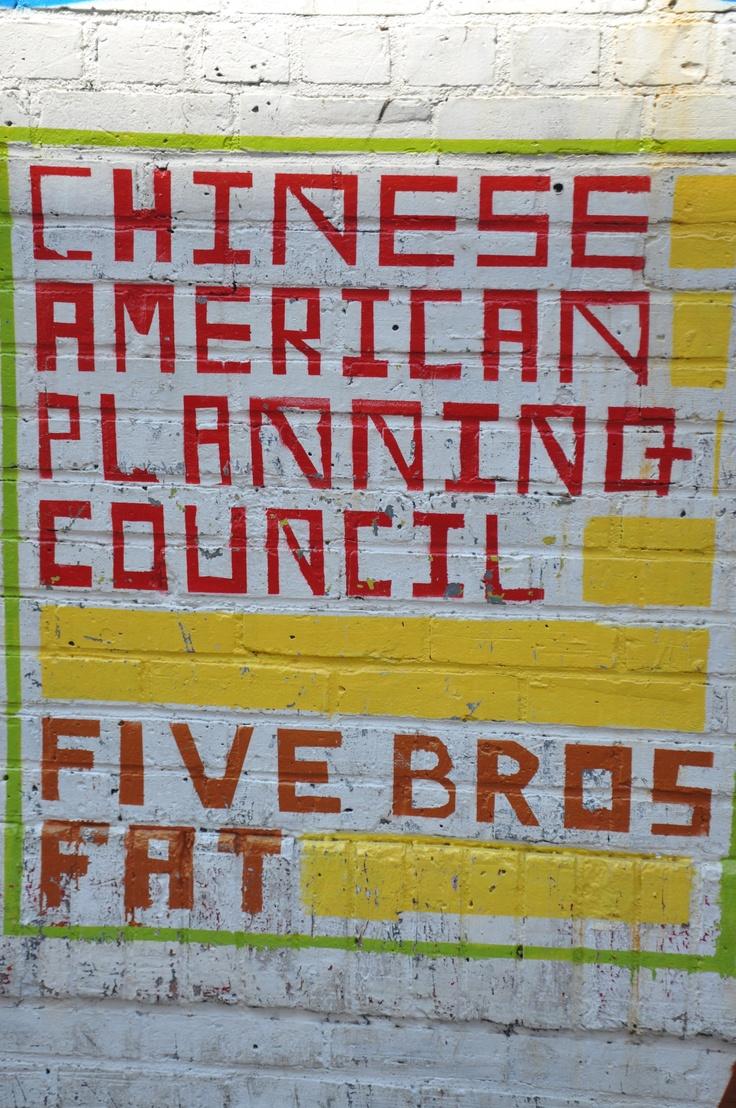 China Town, New York: Homemade Signs
