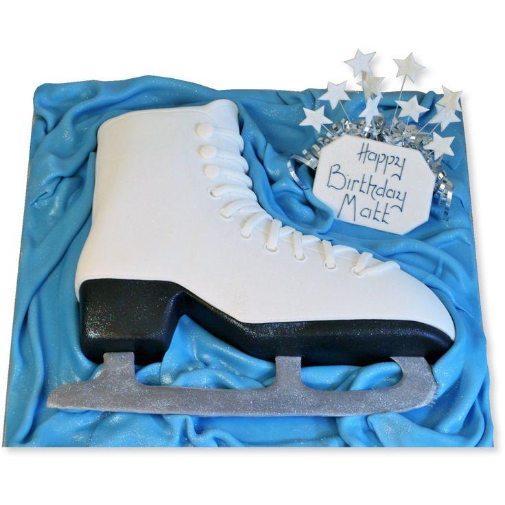 The Cake Store - Ice Skate Cake, £109.00 (http://www.thecakestore.co.uk/ice-skate-cake/)