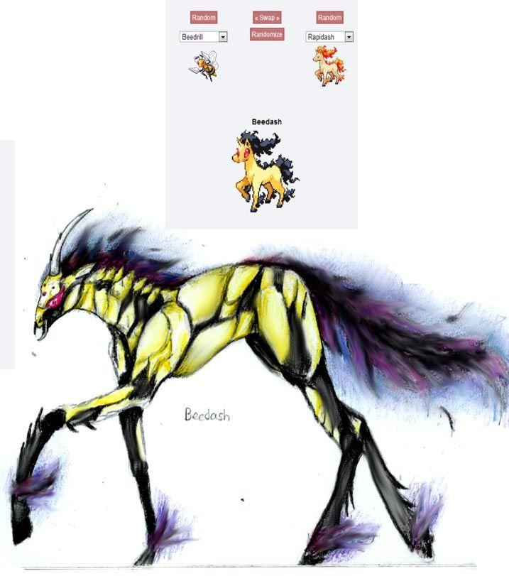 pokemon fusion pictures beedash