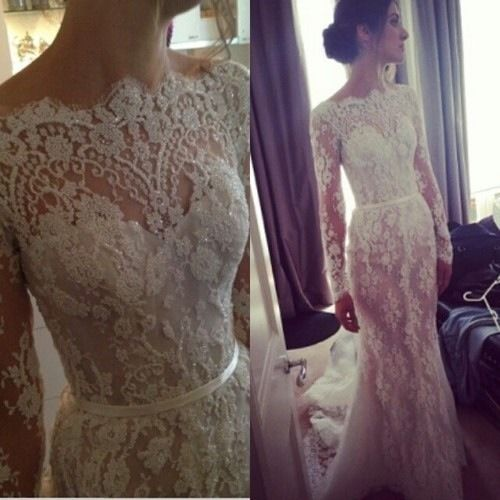 I'm not really into lace or long sleeves but I actually really like this with all the detail.
