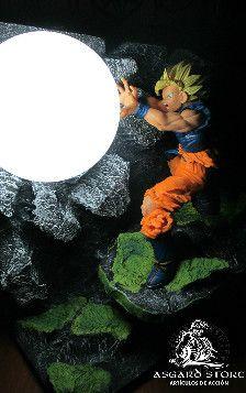 Lampara Dragon Ball Z, para entrega inmediata