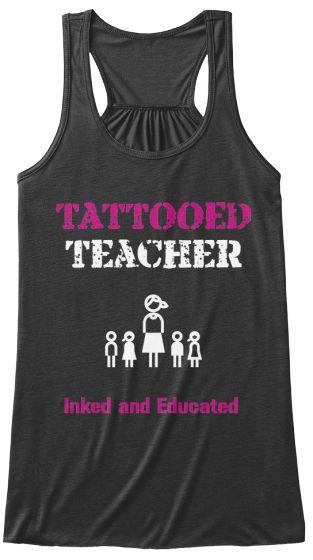 LTD Edition Tattooed Teacher