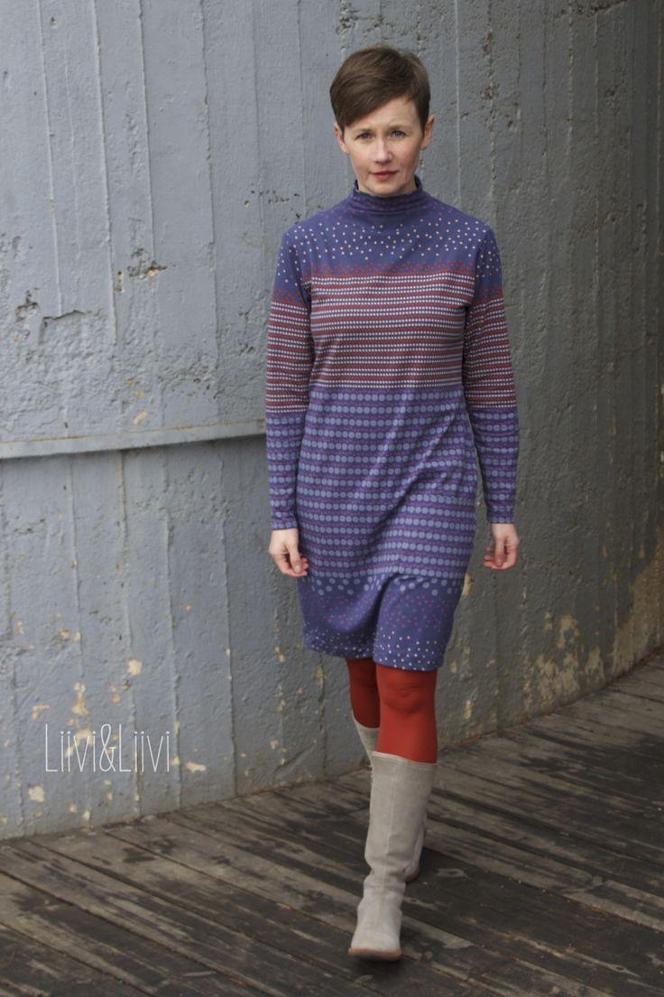 Karl-Dress - schneidernmeistern Stony Shapes Jersey - Kurt-Frowein, Brinarina Design