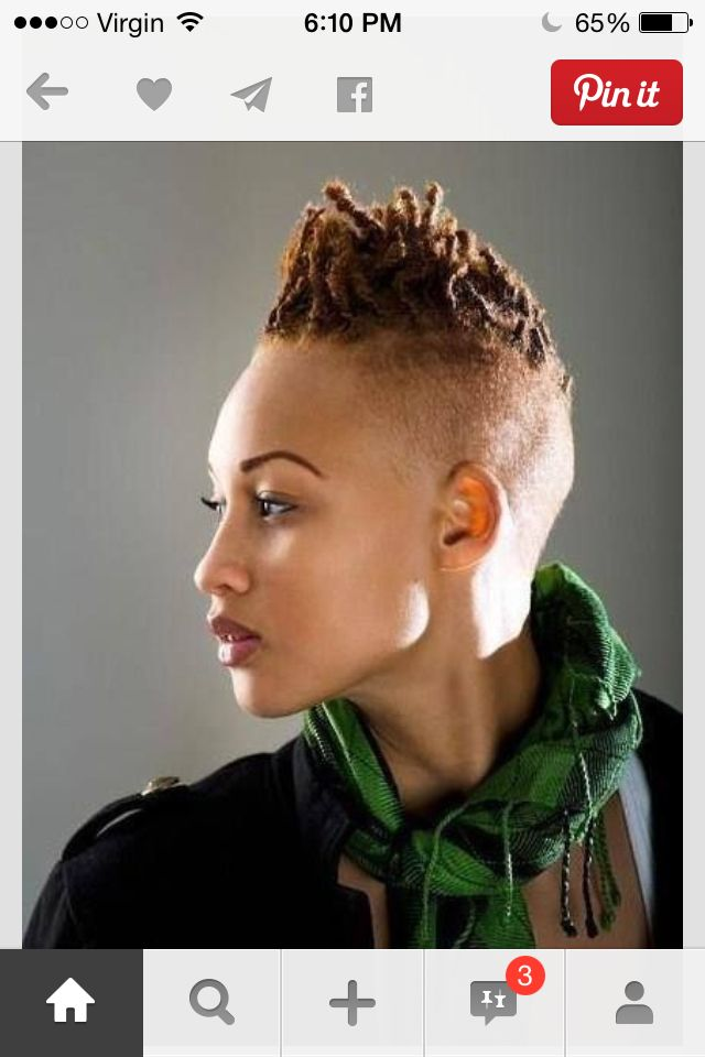 1000 Images About Shaved Sides And Dreads Twist Braids On