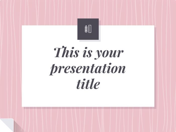 Ophelia free presentation template Free Slide templates - love templates free
