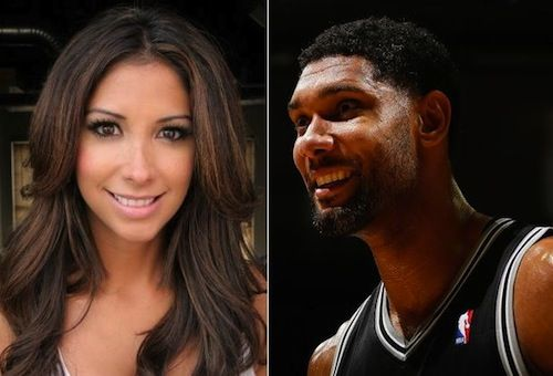 tim duncan girlfriend | PHOTO) NBA: Tim Duncan's Hot Girlfriend Rocks A Shirt With A ...