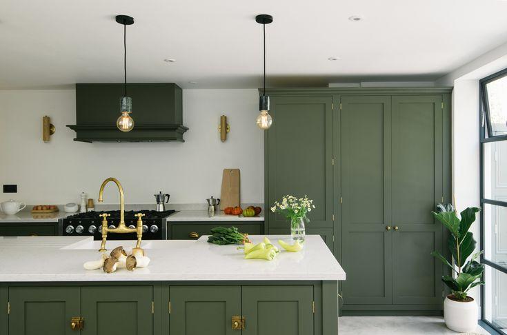 Devol Directory A Kitchen In Hove Dark Green Kitchen
