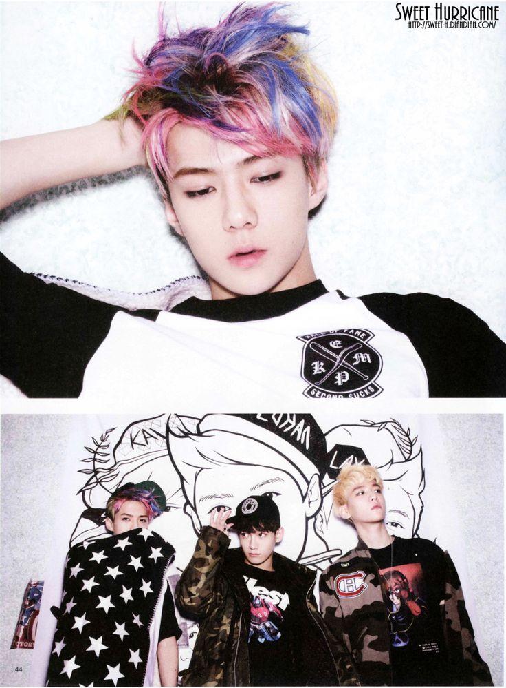 EXO XOXO Scans