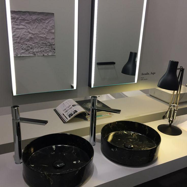 LE PIETRE, the new ceramic collection by CIELO #bathroom #ceramic #SaloneDelMobile #design #interiordesign #inspiration #decor #Cielo #HandMadeinItaly