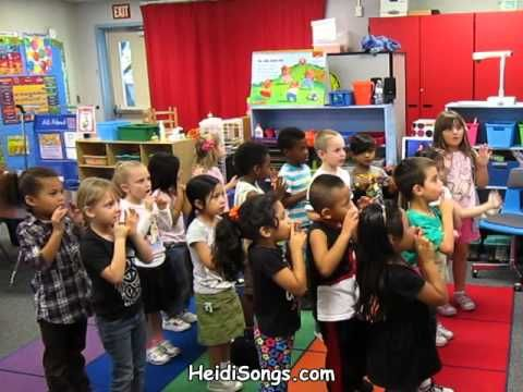 Outside Voices, Inside Voices Song - Music for Classroom Management