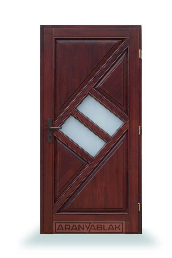 Granat.  Fa bejárati ajtó.  Biztonságot hoz minden otthonba. Igen tartós, hosszú távú megoldás, mindezt magas minőségen, és kedvező áron. Egyedi méretben is.