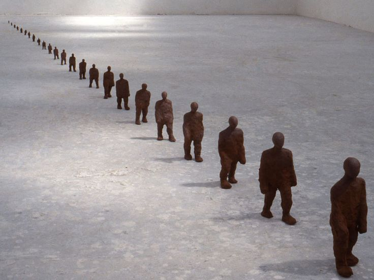 Antony Gormley - TWENTY FOUR HOURS, 1988