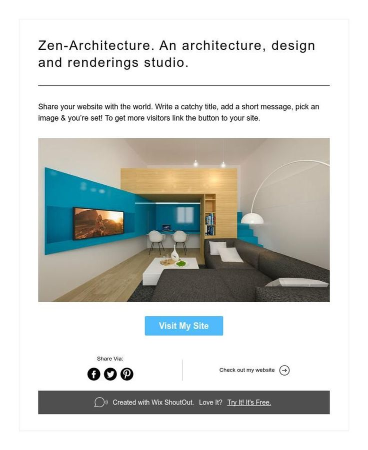 Zen-Architecture. An architecture, design and renderings studio.