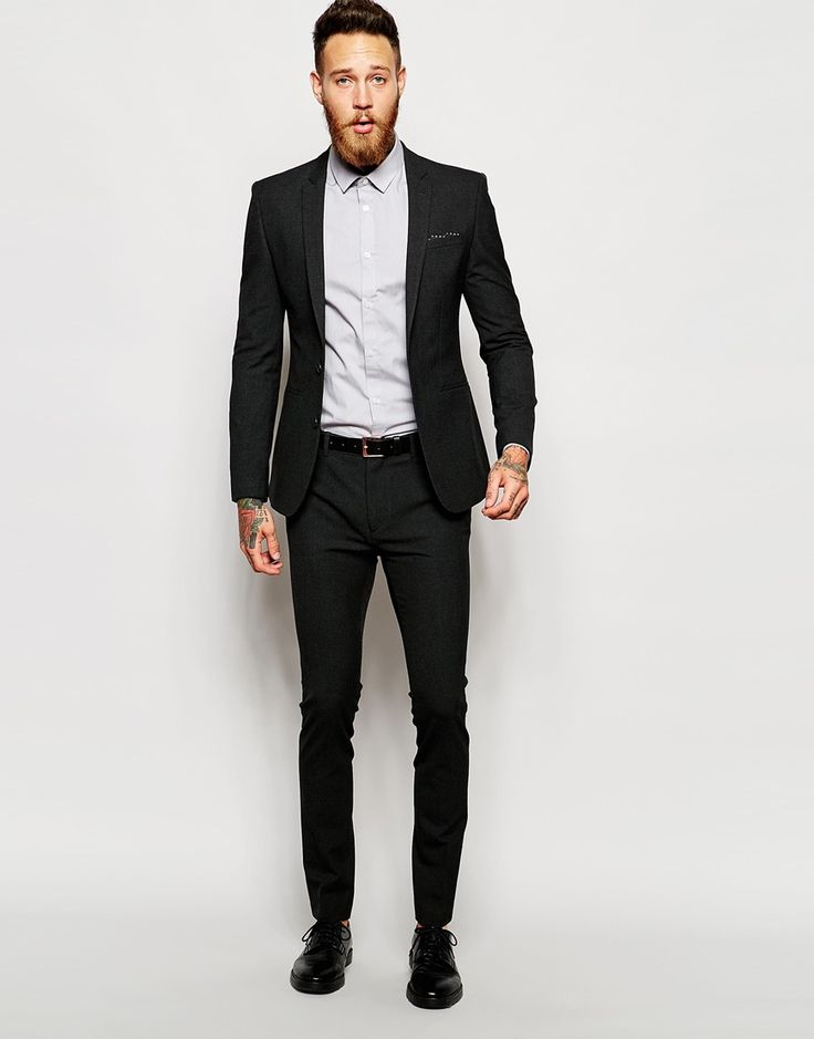 Skinny fitting suits are all the rage! We have an ever-increasing selection of trendy and trim suits for boy's and young men. Solids, Patterns, Blacks, Blues and .