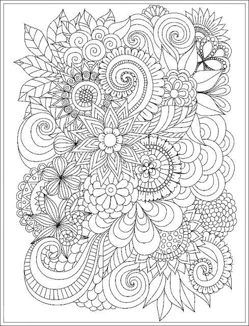 Ausmalbilder Blumen Mandala Erwachsenen Geometrische Malvorlagen Malvorlagen Blumen Ausmalbilder