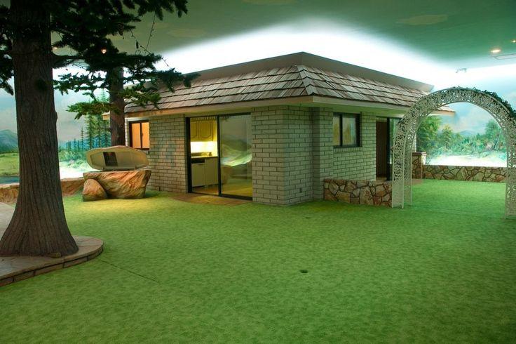 Veja o abrigo subterrâneo construído durante a Guerra Fria por Girard Henderson