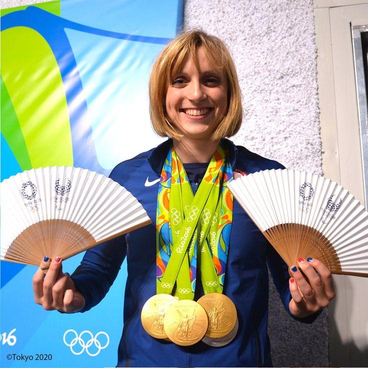 Katie Ledecky選手(競泳・アメリカ)  #RiotoTokyo #Tokyo2020