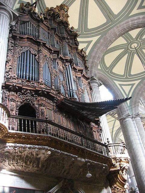 Órgano de la catedral de la Ciudad de méxico