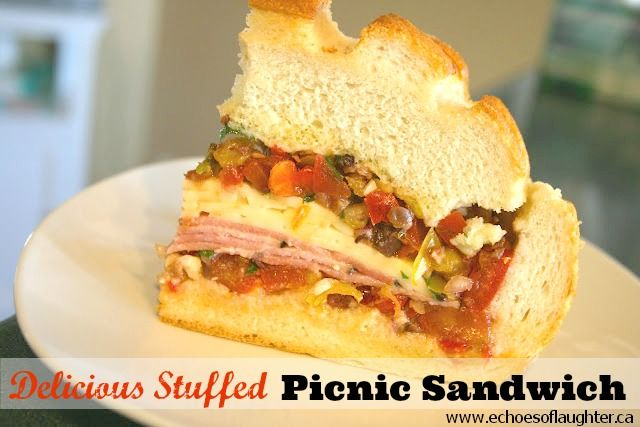 The Perfect Picnic Sandwich {Oh Yes It Is!} - Echoes of Laughter