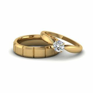 Golden Couple Rings In 2020 Latest Gold Jewellery Fashion