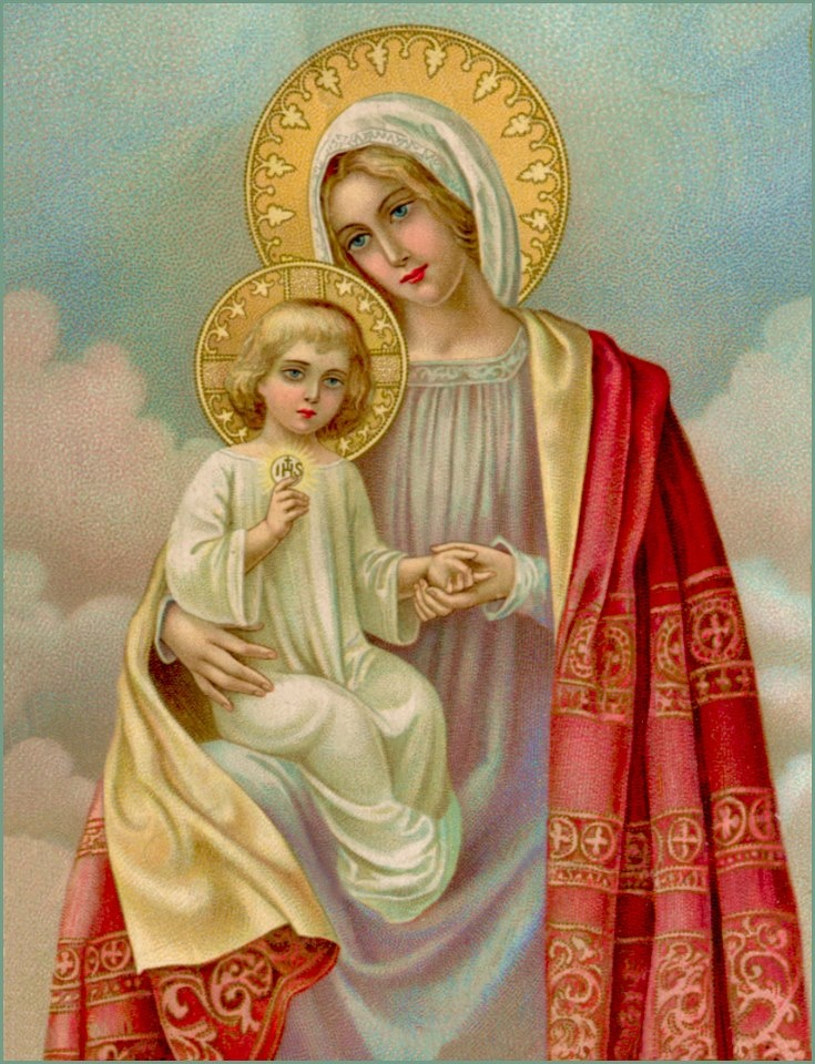 Blessed Mother Mary And Jesus 408 best Our Bl...