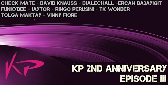 KP Recordings 2 Nd Anniversary EPISODE 3  Release Date on Beatport : Jul.28.2014