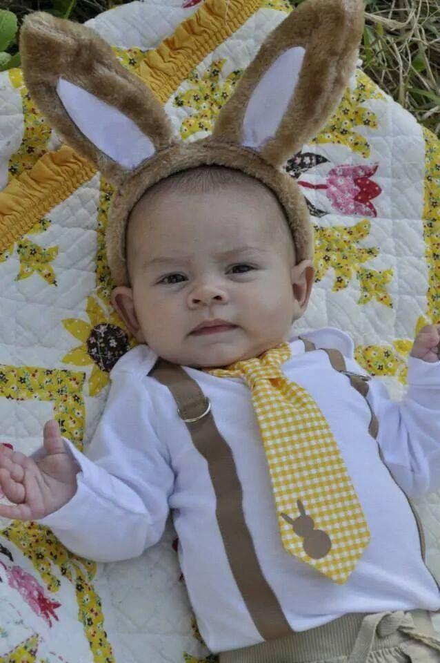 6ed56a48a95 Bunny Tie Onesie Tshirt