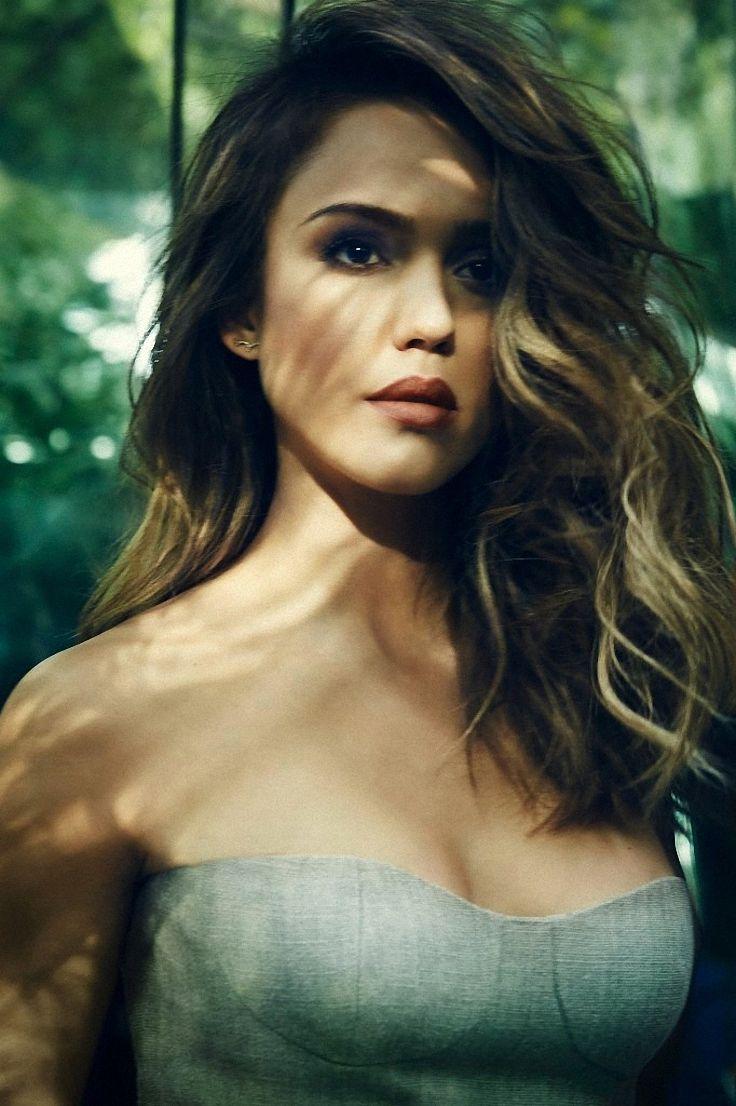 Jessica Alba by James White for Redbook • 2014