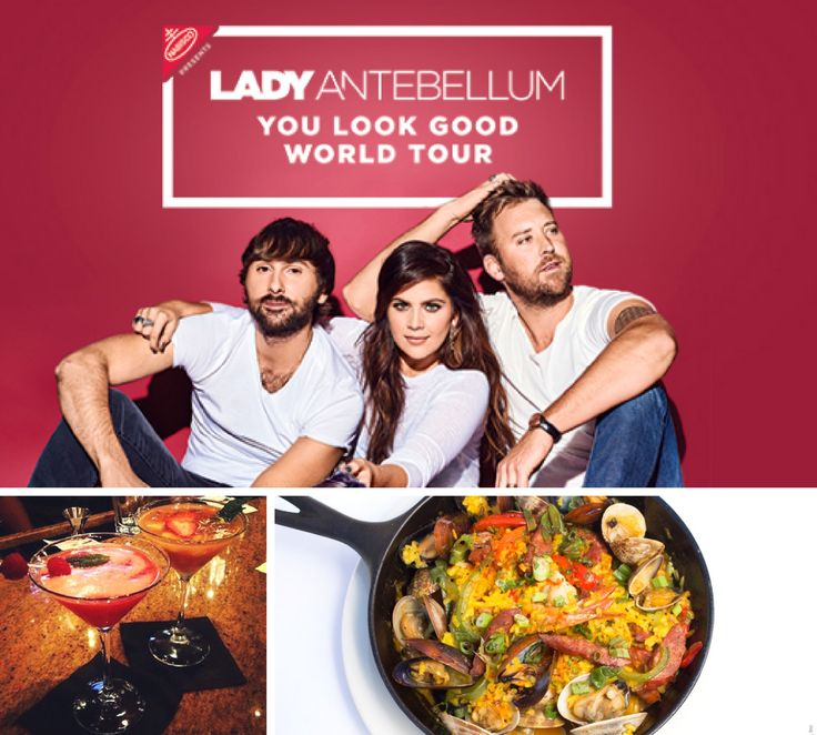 Are you going to the Lady Antebellum concert this Saturday at the Shoreline Amphitheatre? Make reservations for a delicious dinner and drinks before the show!