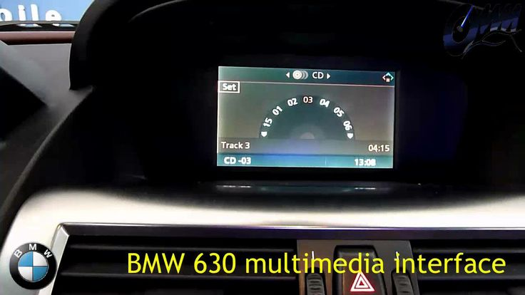 Bmw 6 serisi multimedya sistemi