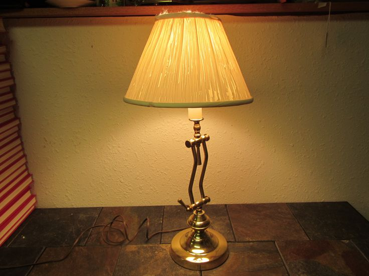 Adjustable Brass Table Lamp, Desk Lamp, reading lamp ...