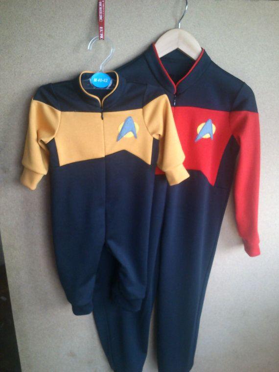 Star Trek The next generation one piece body suit by LittleElfsCro