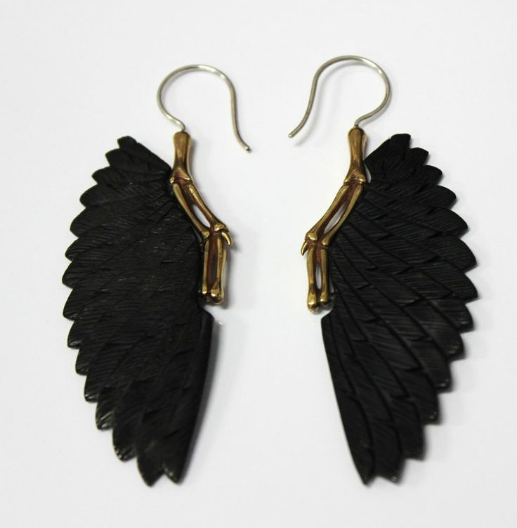 23 best Black Horn Fake Gauge Earrings images on Pinterest