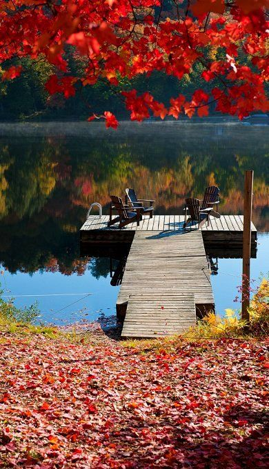 Colors of Fall in Algonquin Park, Ontario, Canada | Flickr - Photo by Igor Laptev Version Voyages, www.versionvoyages.fr Marine-Océane Vinot