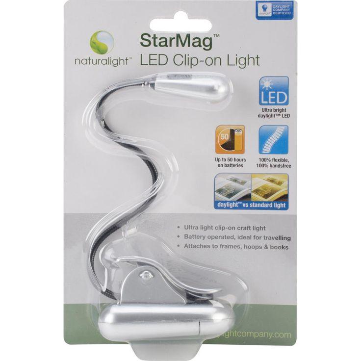 Naturalight StarMag LED Clip-On Light