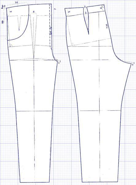 Как рассшить брюки для беременных