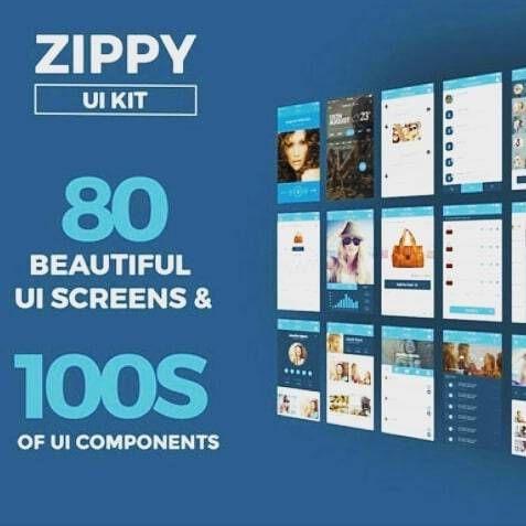 Zippy #UI #Kit #Vector UI Templates by ZippyPixels ...